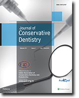 Journal of Conservative Dentistry