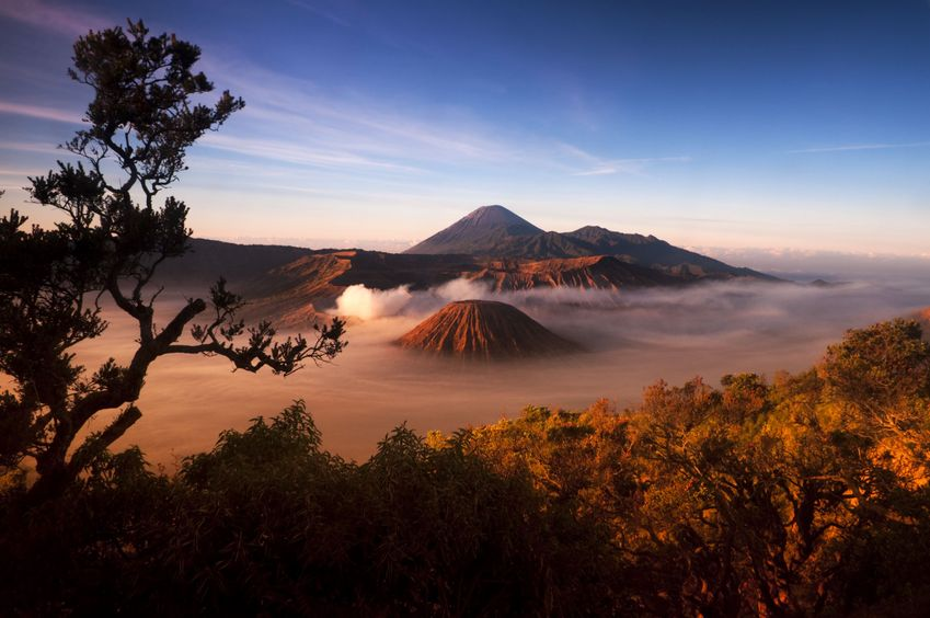 5583853 - mount bromo volcanoes taken in tengger caldera, east java, indonesia.