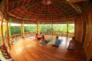 Yoga class at our gazebo (1024x683)