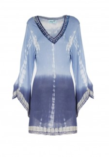 Letarte, Ocean Blues Tie Dye Tunic, $328