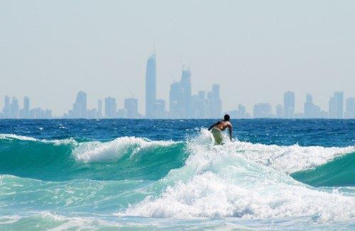 SURF gold coast