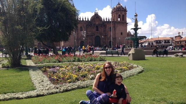 Peru com filhos