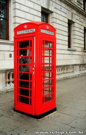 Famoso Telefone Vermelho