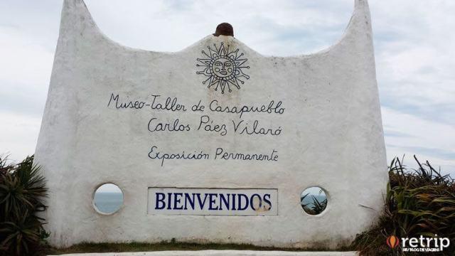 Entrada Casapueblo, Punta Ballena no Uruguai