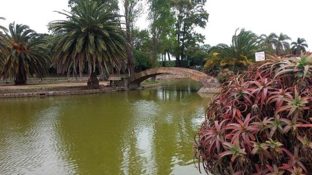 Parque Rodó em Montevidéu capital do Uruguai