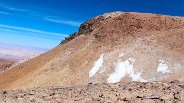 Vulcão Cerro Toco em San Pedro do Atacama com 5.604 metros de altitude