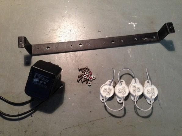 Fabrication appareil de laboratoir fictif