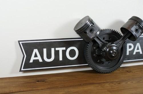Enseigne auto parts