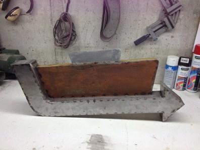 Fabrication enseigne vintage GAS
