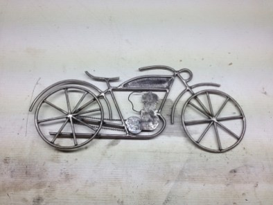 Fabrication enseigne motorcycle
