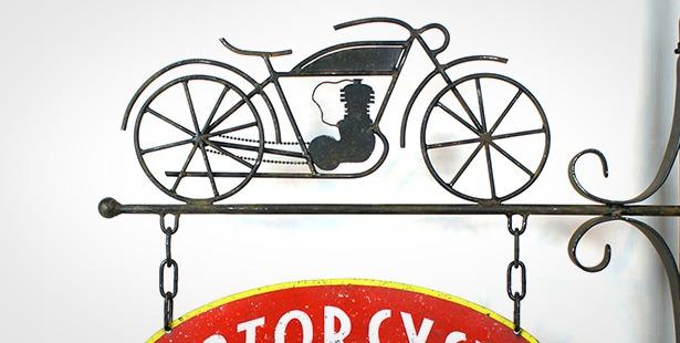 Enseigne-Motorcycle