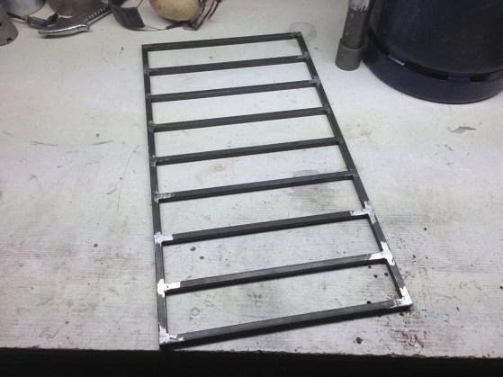 Fabrication meuble à tiroir metalique industriel
