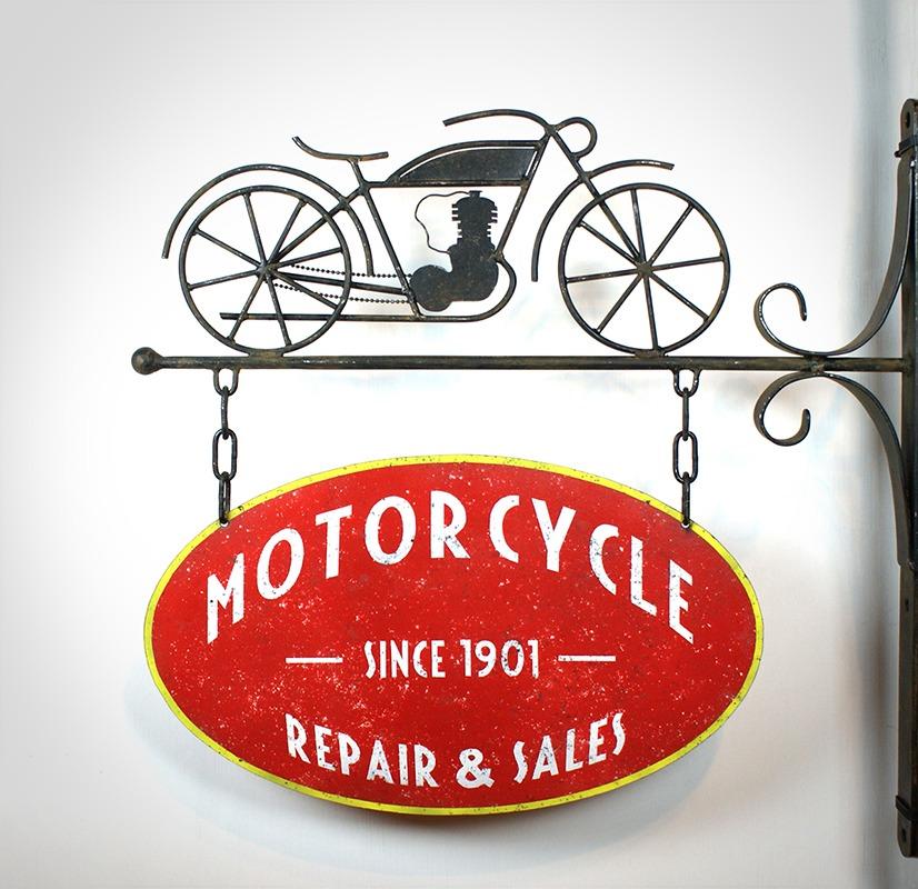 Enseigne Motorcycle