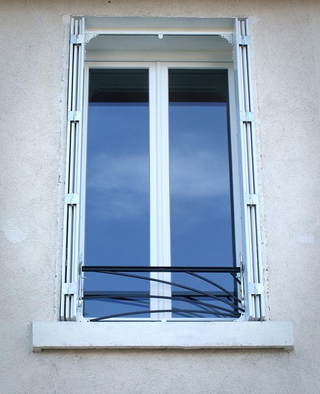 Garde corps pour fenêtres