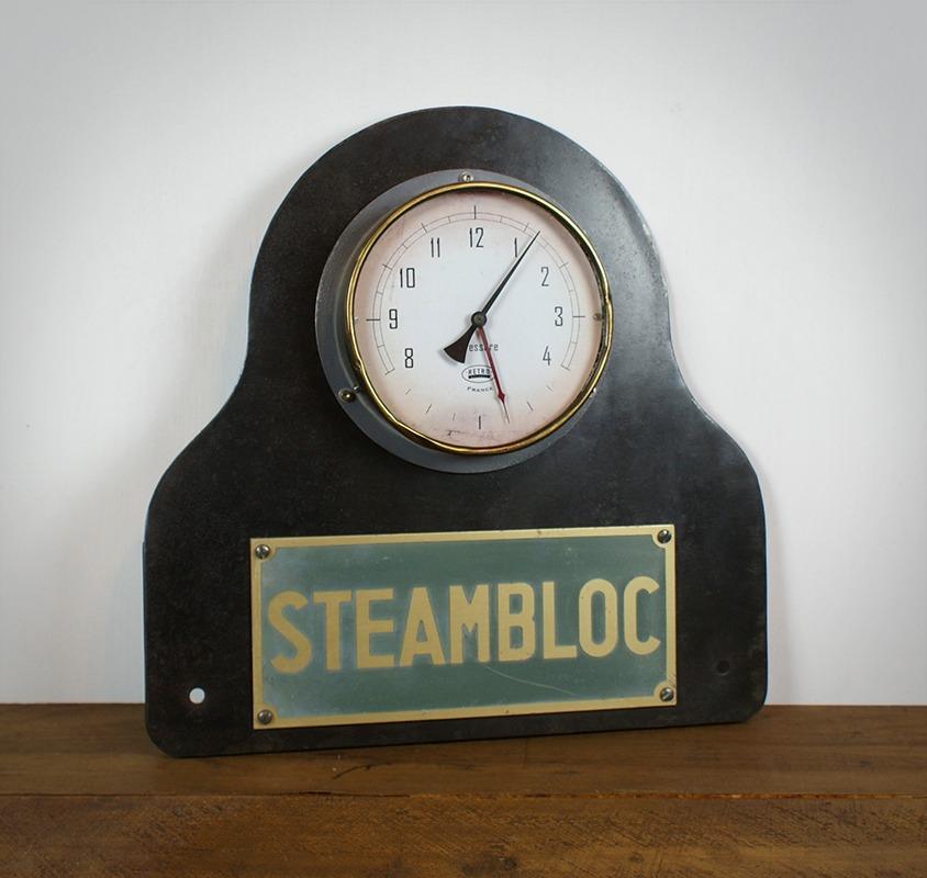 Pendule Steampunk