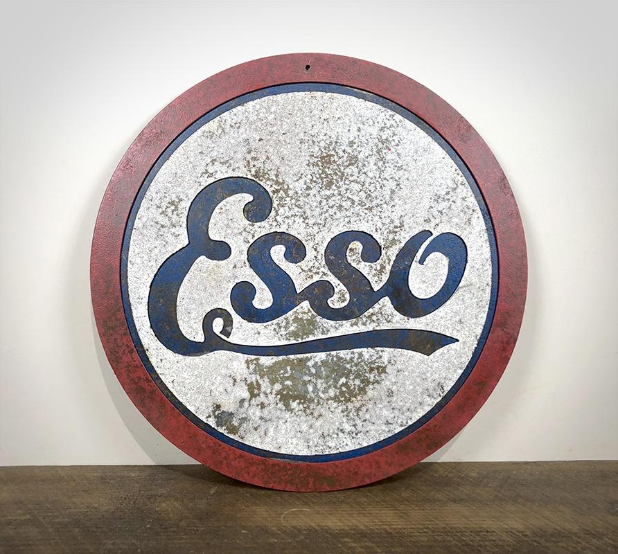Plaque Esso