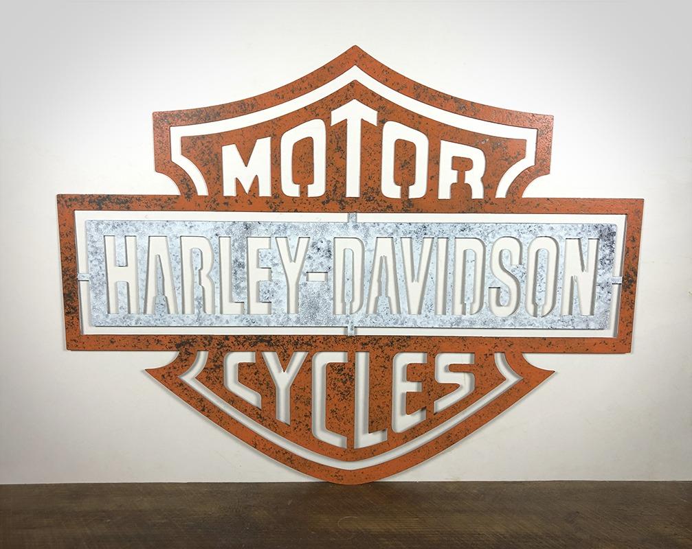Plaque Harley Davidson