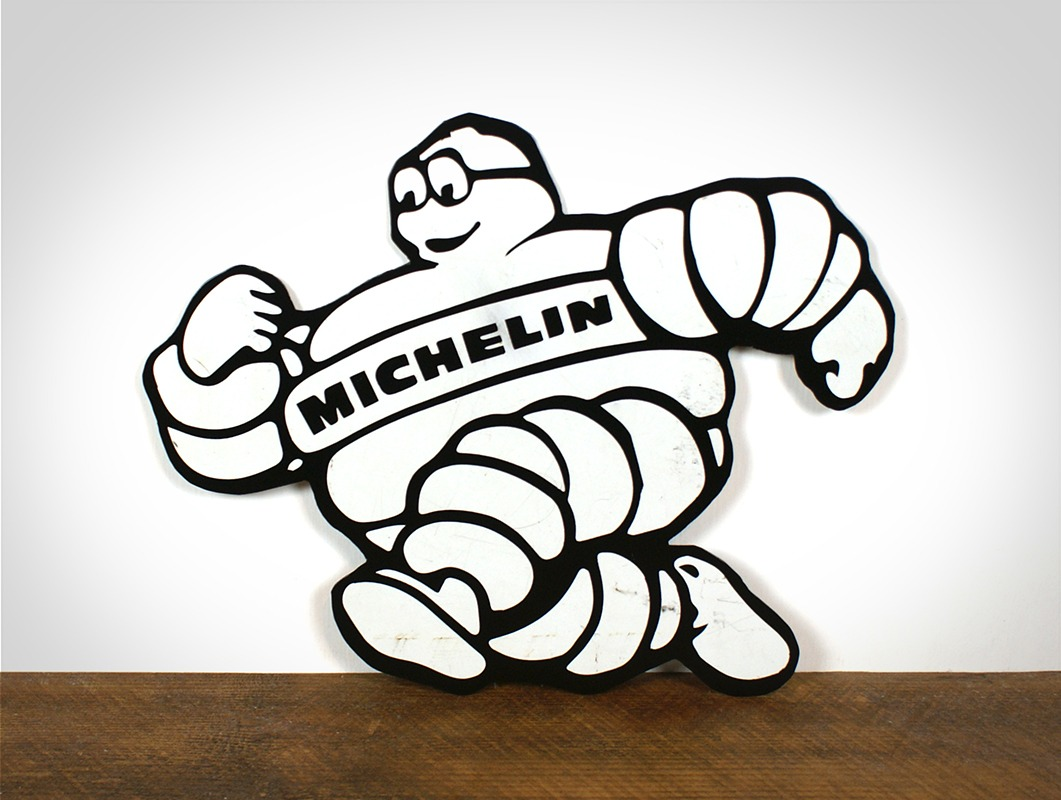 Plaque Bibendum Michelin