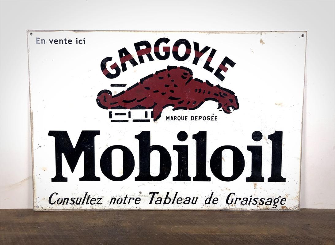 Plaque Gargoyle MobilOil