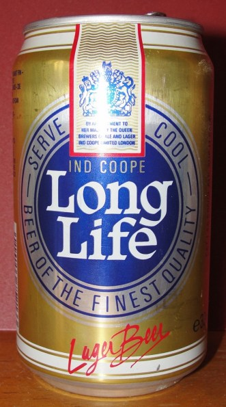 Cerveza Long Life (UK) Lager (330 ml) 1992 - A - DSC09842