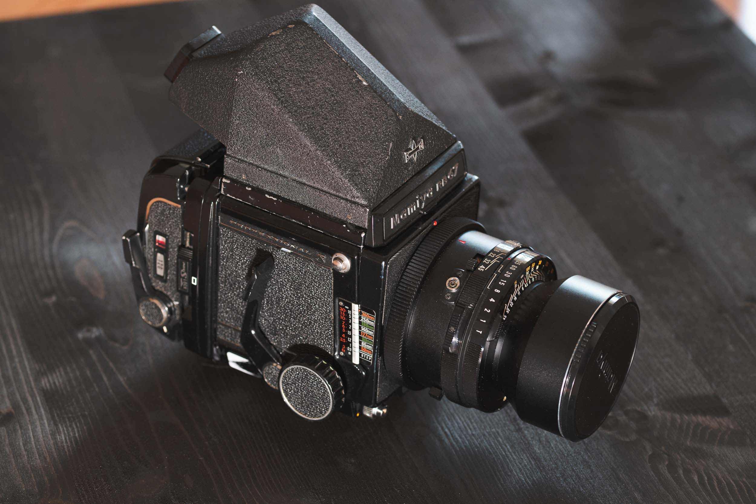 The Mamiya RB67 Pro S - Retro Pixel