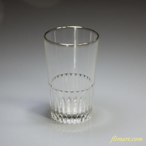 昭和レトロHOYAガラスコップR4776
