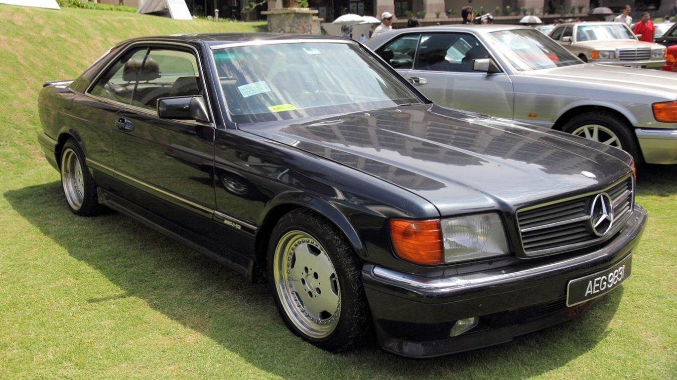BL: Mercedes-Benz AMG 560SEC