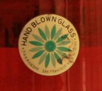 A sample of the original sticker