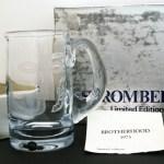Swedish Blue Crystal Lord Queensberry Beer Mug Signeda