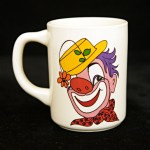 This is the best looking and best preserved clown mug from the 1950's we've seen.
