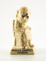 Tell your dear Grandpa how much you love him with this retro vintage Russ Berrie & Co. resin greatest grandpa figurine.