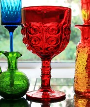View vintage glass form & function