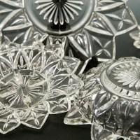 Flower Petal glass circa 1950's-1960's.