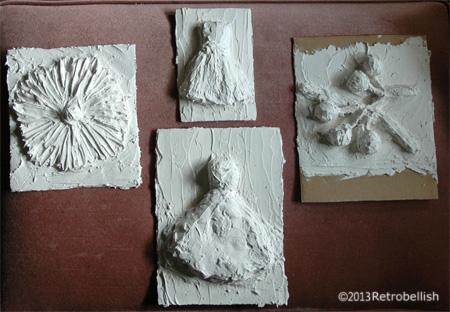 cardboard-plaster-relief