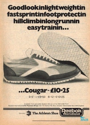 1977 Aug Reebok Cougar
