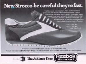 1977 Reebok Sirocco