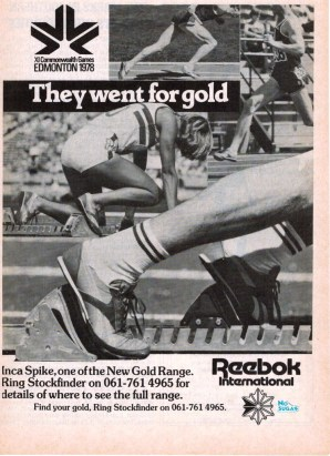 1978 Reebok Inca Spike