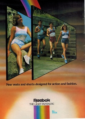 1984 Reebok Clothing