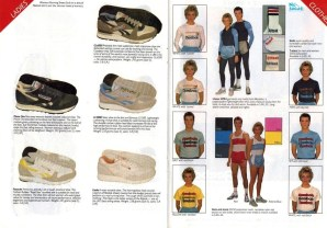 1985 Reebok Catalogue 6 and 7