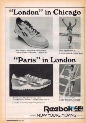 1985 Reebok London Paris