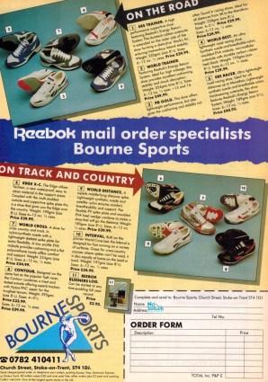 1990 Reebok Range Bournes Sports