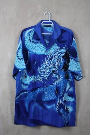 Camisa Manga Blue Dragon