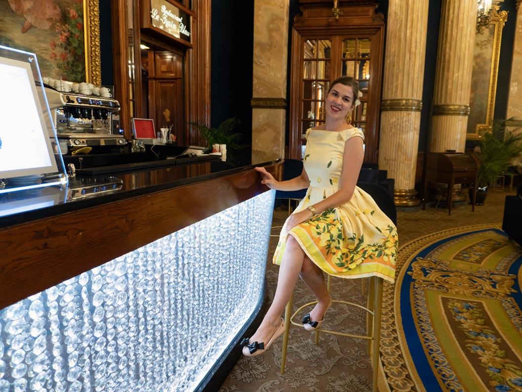 RetroCat im Casino von Monte-Carlo/Monaco