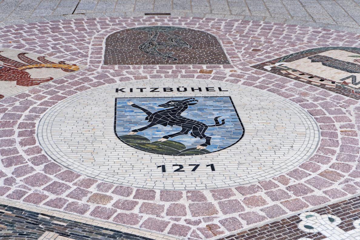 Das Wappen von Kitzbühel