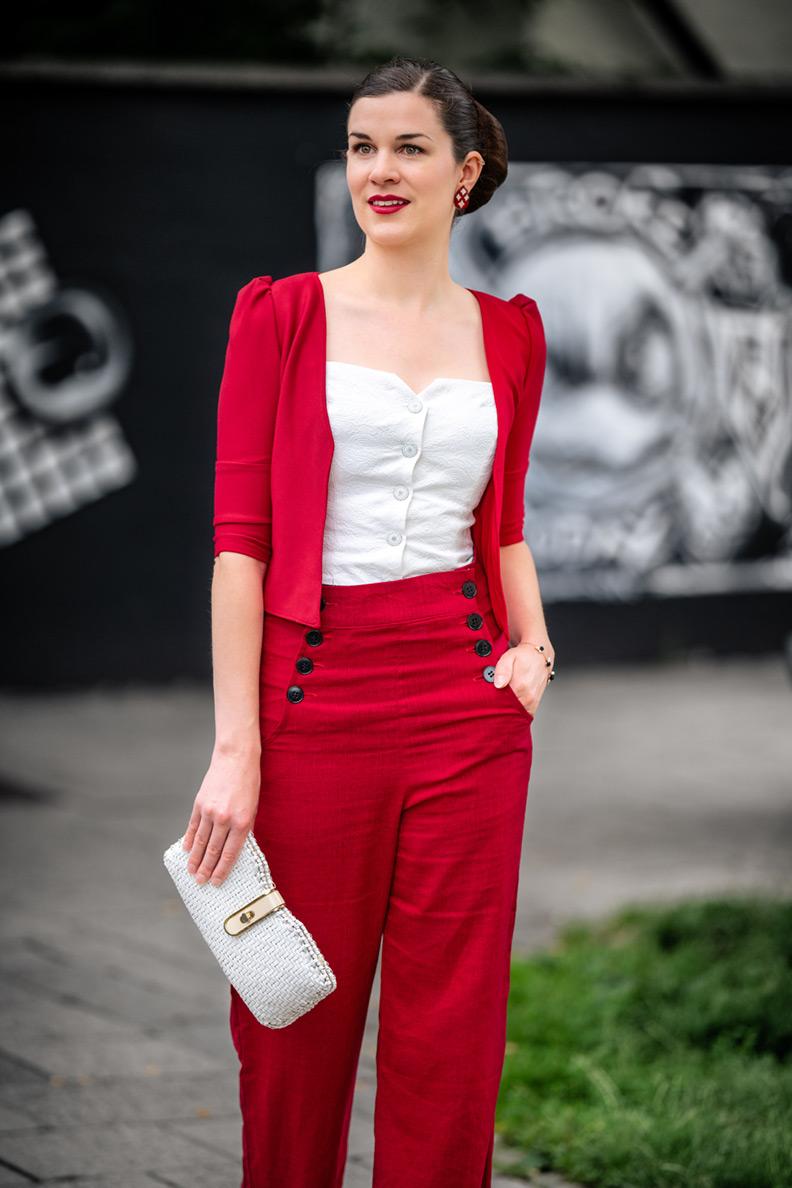 Mode-News: Ein Outfit von der Retro-Marke 18nulleins Lady