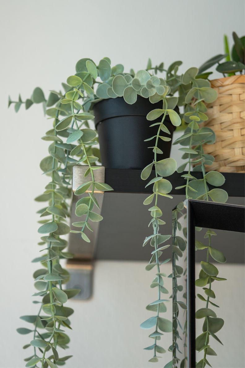 Eine künstliche Pflanze von Ikea