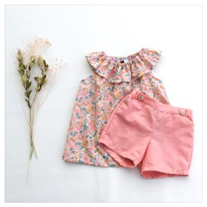 Retrochic-boutique-mode-pour-enfants-short-chambray-de-coton-jean-liberty-of-london-betsy-barbapapa-made-in-france-