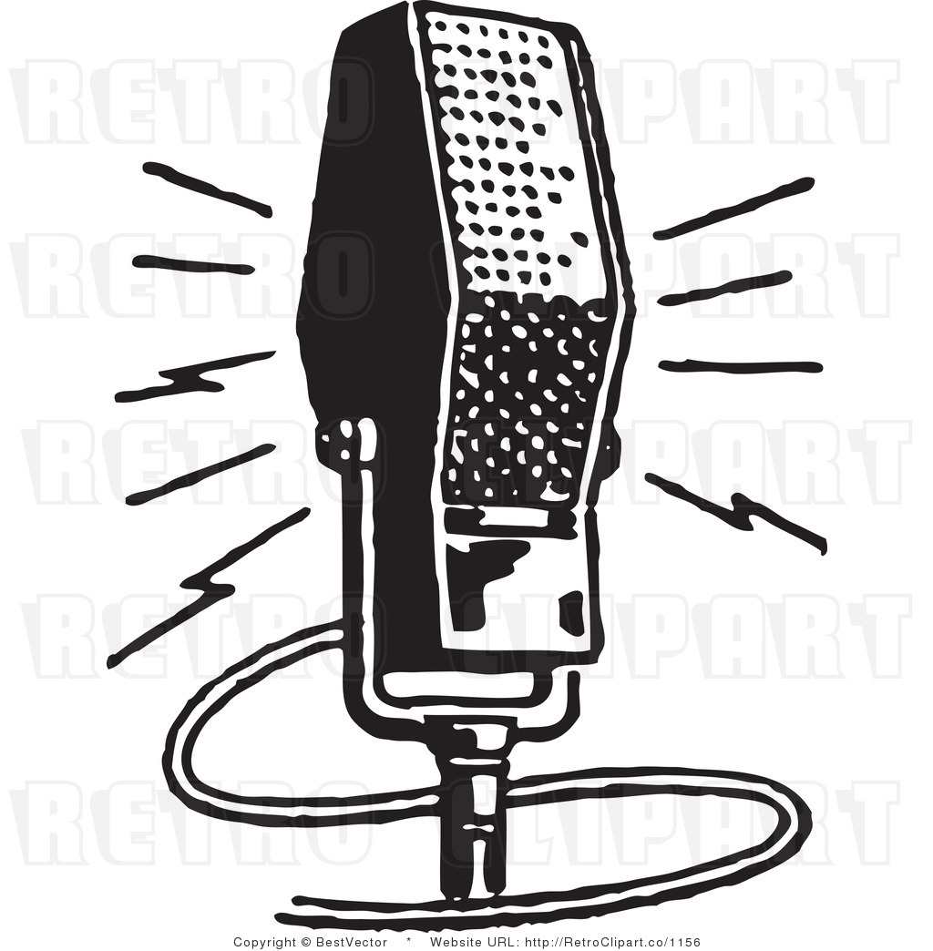 Clip Art Of Microphones