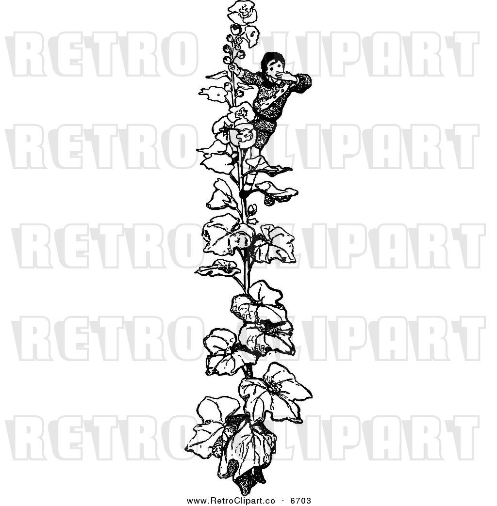Royalty Free Plant Stock Retro Designs