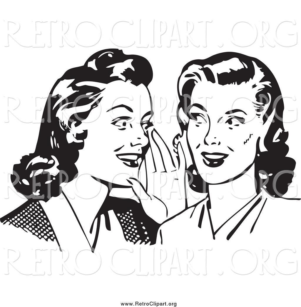 Royalty Free Women Stock Retro Designs